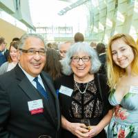 Jose Infante, Joni VanderTill and guest at the Enrichment Dinner